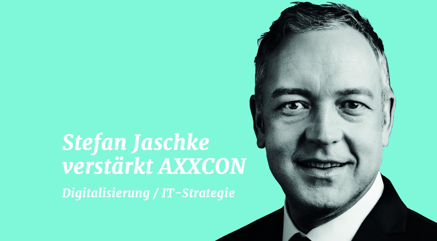 AXXCON wächst Stefan Jaschke