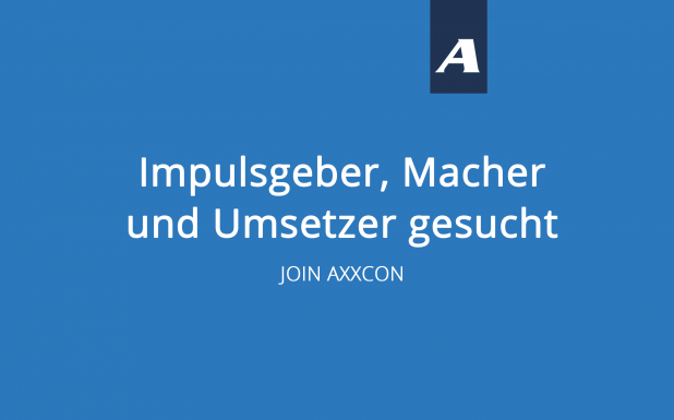 AXXCON Karriere Unternehmensberater werden